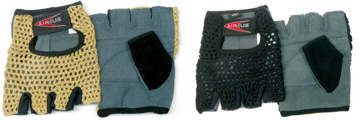 Airius Knit Back Gloves