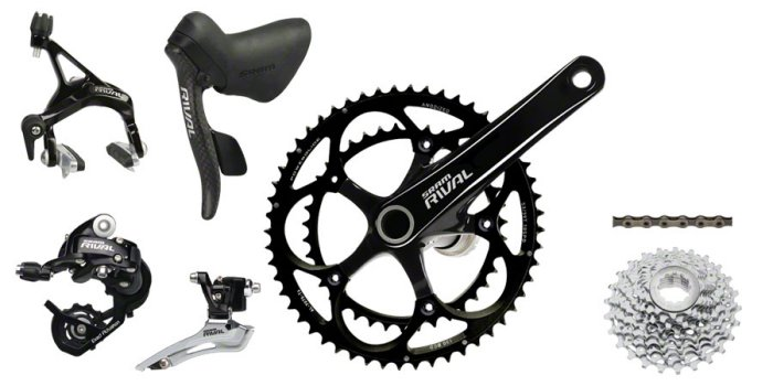 SRAM Rival 22 group